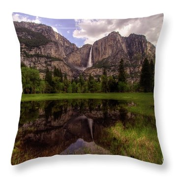 Majestic Reflections Throw Pillow