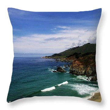 Majestic Sea Throw Pillow