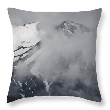 Throw Pillow featuring the photograph Majestic Southern Alp by Laurel Talabere