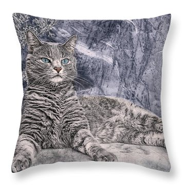 Majestix II Throw Pillow by Joachim G Pinkawa