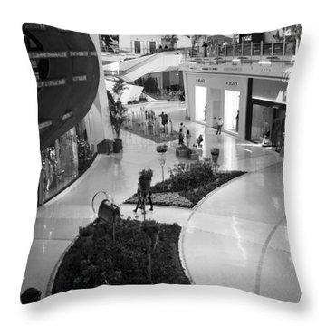 Mall Life IIi Throw Pillow