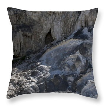Throw Pillow featuring the photograph Mammoth Cave by J L Woody Wooden