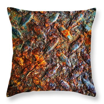 Man Made Trees Throw Pillow by Jerry Cordeiro