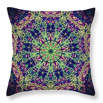 Mandala Moods Throw Pillow