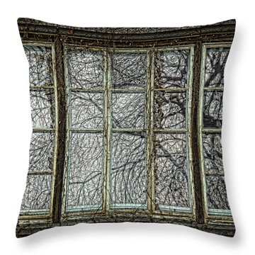 Manifestation Of Time Throw Pillow by John Hansen
