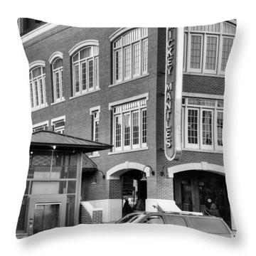Mantle's Throw Pillow