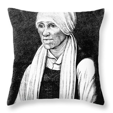 Margarethe Luther Throw Pillow by Granger