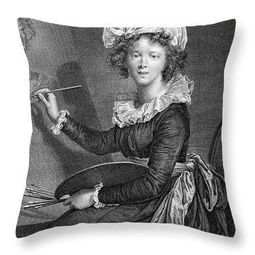 Marie Anne Vigee-lebrun Throw Pillow by Granger