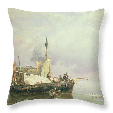 Marine Scene  Throw Pillow