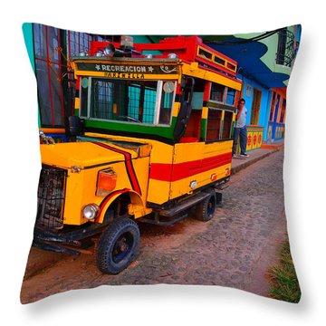 Marinilla Throw Pillow by Skip Hunt