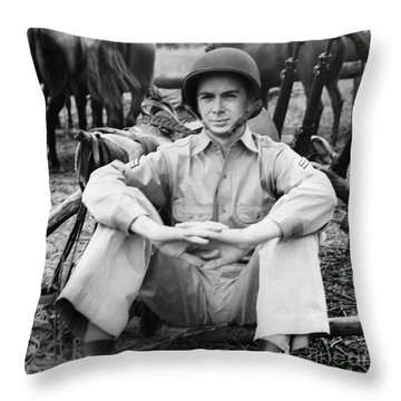 Marion Hargrove (1919-2003) Throw Pillow by Granger