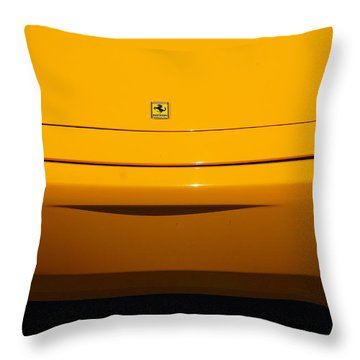 Throw Pillow featuring the photograph Marque With Smile by John Schneider