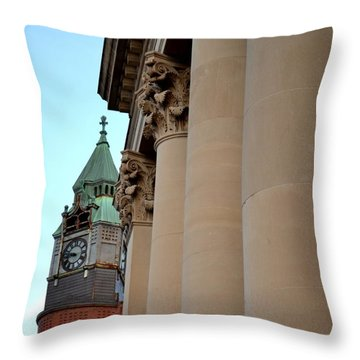 Marquette Architecture Throw Pillow