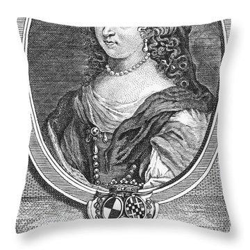 Marquise Marie De Sevigne Throw Pillow