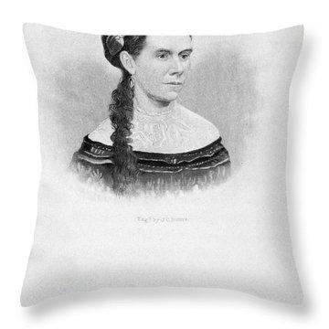 Martha Patterson Throw Pillow