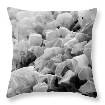 Martian Co2 Crystals Throw Pillow by National Snow and Ice Data Center
