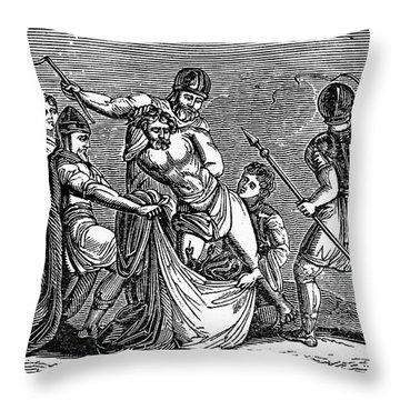 Martyrdom: Saint Julian Throw Pillow by Granger