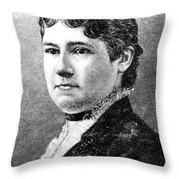 Mary Arthur Mcelroy Throw Pillow by Granger