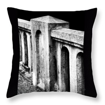 Mary Street Bridge Bristol Virginia Throw Pillow
