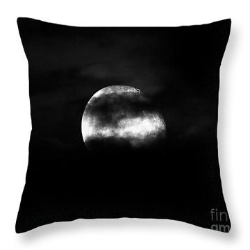 Masked Moon Throw Pillow by Al Powell Photography USA