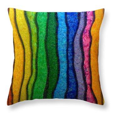 Matiz Throw Pillow by RochVanh