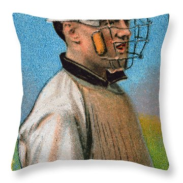Maurice Riley Powers Throw Pillow by Granger