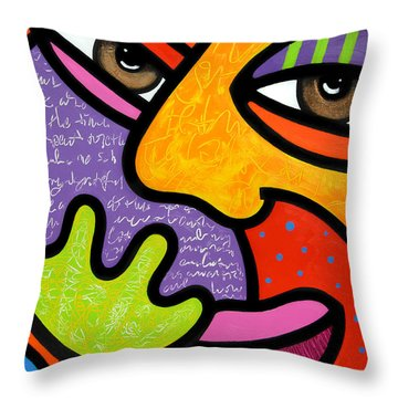 Maxine Throw Pillow