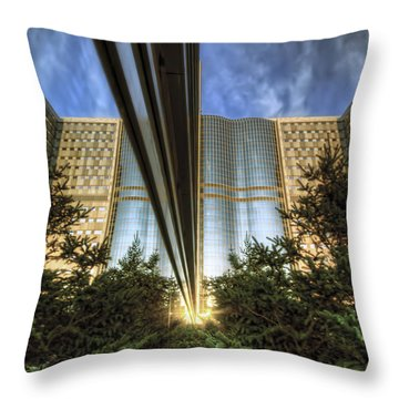 Throw Pillow featuring the photograph Mayo Squared by Tom Gort