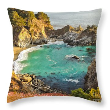 Mc Way Falls Cove Throw Pillow