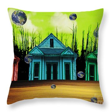 Means Of Escape Throw Pillow