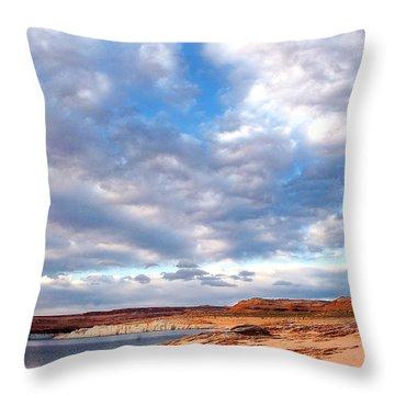 Meditation Throw Pillow by Thomas R Fletcher