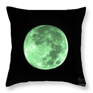 Melon Moon Throw Pillow by Al Powell Photography USA