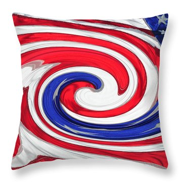 Melting Pot Throw Pillow