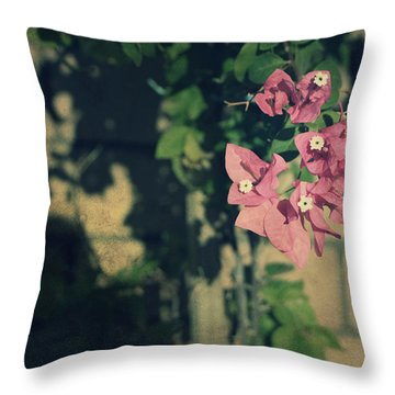 Memories Like Fingerprints Throw Pillow by Laurie Search