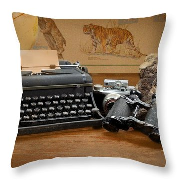 Memories Throw Pillow by Rudy Umans