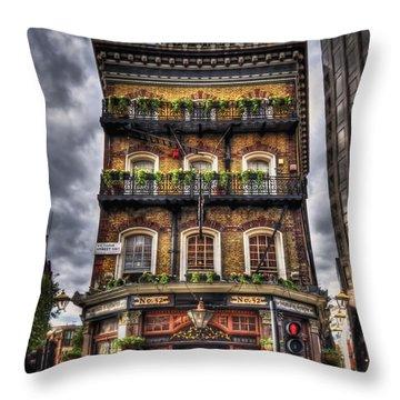 Memory Lane Throw Pillow by Evelina Kremsdorf
