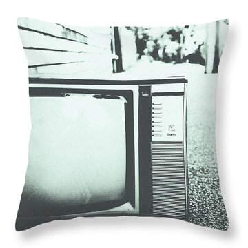 Memory Loss Throw Pillow by Andrew Paranavitana