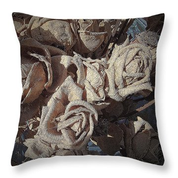 Memory Rose 2 Throw Pillow
