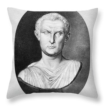 Menander (343-291 B.c.) Throw Pillow by Granger