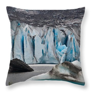 Mendenhall Glacier Juneau Alaska 1698 Throw Pillow
