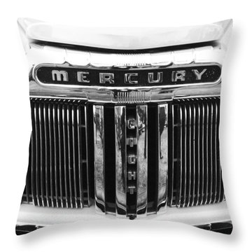 Mercury Grill  Throw Pillow by Kym Backland