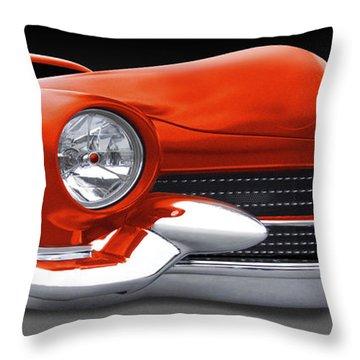 Mercury Low Rider Throw Pillow by Mike McGlothlen
