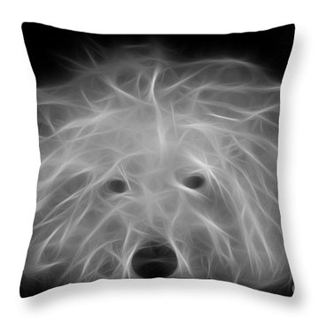 Merlin Throw Pillow by Alyce Taylor
