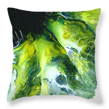 Mermaid Song Throw Pillow by Catherine Jeltes