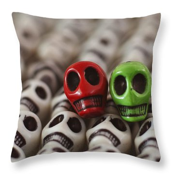 Merry Christmas Throw Pillow by Mike Herdering