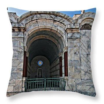 Metairie Cemetery 3 Throw Pillow by Steve Harrington