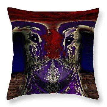 Metamorphosis Throw Pillow by Christopher Gaston