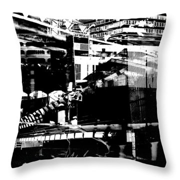 Metropolis Zurich 1 Throw Pillow