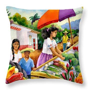 Marketplace Throw Pillows