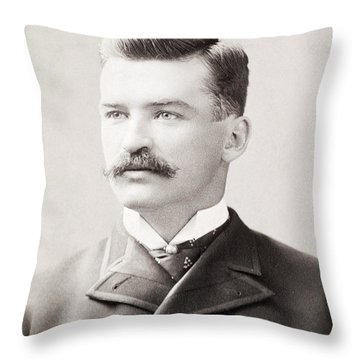 Michael Joseph Kelly Throw Pillow by Granger